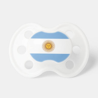 Argentina flag custom baby pacifier