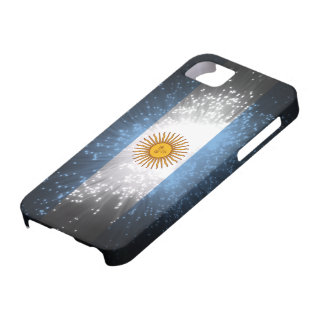 Argentina Flag Firework iPhone 5 Case