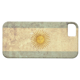 Argentina Flag - Grunge Case For The iPhone 5