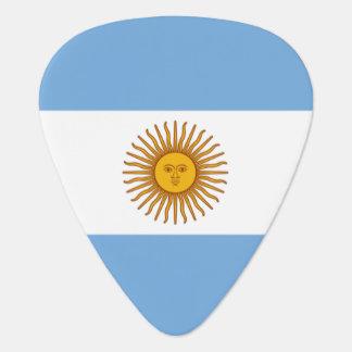 Argentina flag guitar pick for Argentine musicians