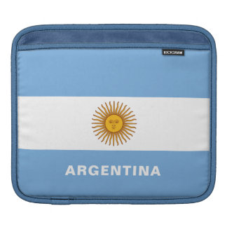 Argentina Flag iPad Sleeves