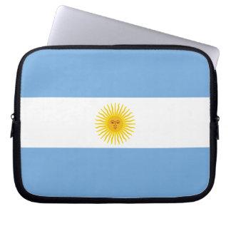 Argentina Flag Laptop Computer Sleeve