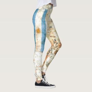 Argentina Flag Leggings