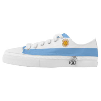 Argentina Flag Low Top Shoes