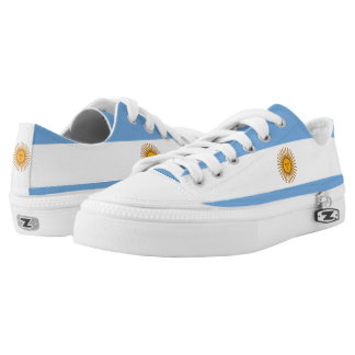 Argentina Flag Low-Top Sneakers