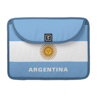 Argentina Flag MacBook Sleeve Pro
