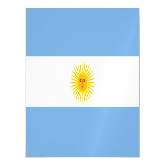 Argentina Flag Magnetic Card