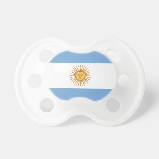 Argentina flag pacifiers