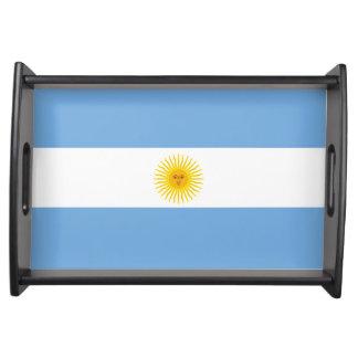 Argentina Flag Serving Tray