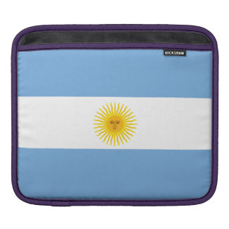 Argentina Flag Sleeves For iPads