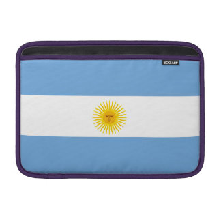 Argentina Flag Sleeves For MacBook Air