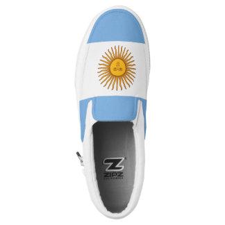 Argentina Flag Slip On Shoes