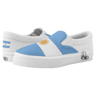 Argentina Flag Slip-On Sneakers