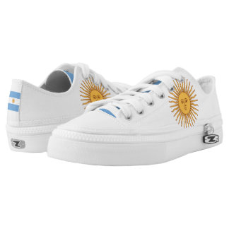 Argentina Flag Sun of May Low-Top Sneakers