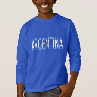 Argentina flag text sign Hoodie