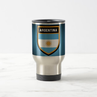 Argentina Flag Travel Mug