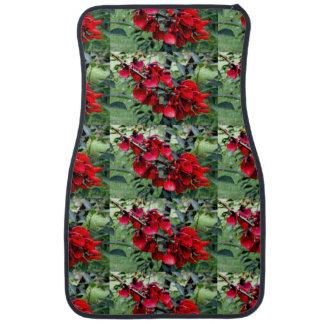 Argentina Flowers Car Floor Carpet