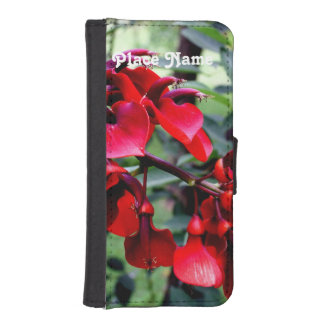 Argentina Flowers iPhone 5 Wallet Case