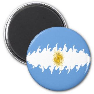 Argentina Gnarly Flag Magnet