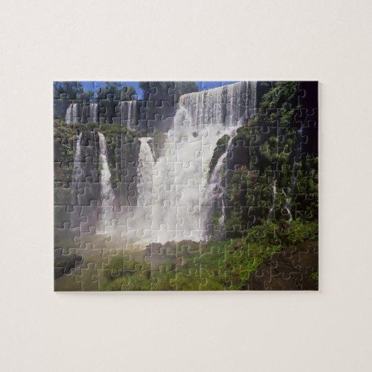 Argentina; Igwazu; Igwazu Falls. Salto San Jigsaw Puzzle