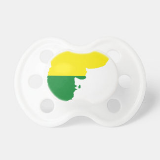Argentina LGBT Flag Map Pacifier