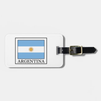 Argentina Luggage Tag