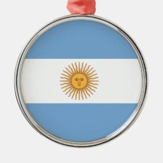 Argentina Metal Ornament