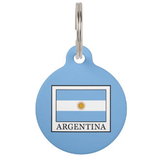 Argentina Pet Name Tag