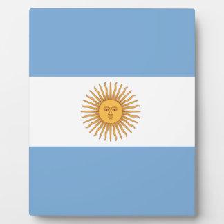 Argentina Plaque