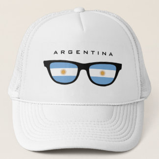 Argentina Shades custom hat