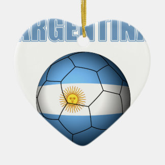 Argentina Soccer 0528 Ceramic Ornament