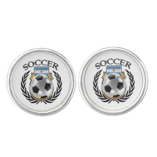 Argentina Soccer 2016 Fan Gear Cuff Links