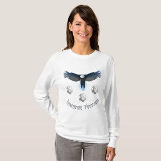 Argentina Soccer Eagle Ladies Long Sleeve T-Shirt