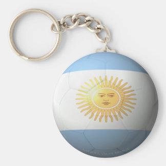 Argentina Soccer Keychain