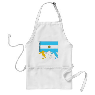Argentina Soccer Players Standard Apron