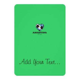 Argentina Soccer Shirt 2016 Card