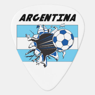 Argentina Soccer Team Guitar Pick