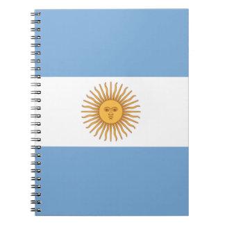 Argentina Spiral Notebook