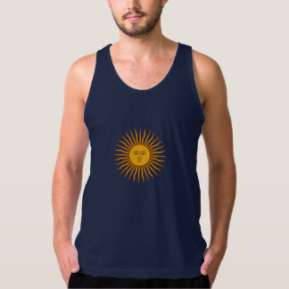 Argentina sun of may symbol Tank Top