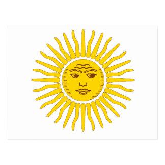 Argentina Sun Postcard