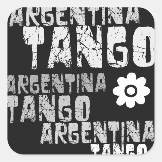 Argentina Tango Sticker