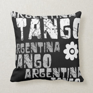 Argentina Tango Throw Pillow