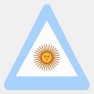 ARGENTINA TRIANGLE STICKER