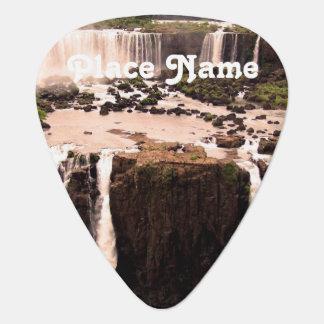 Argentina Waterfalls Guitar Pick