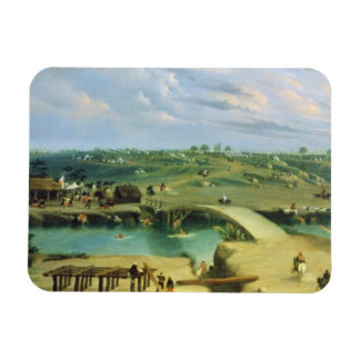 Argentine Camp on the other side of the San Lorenz Rectangular Magnets