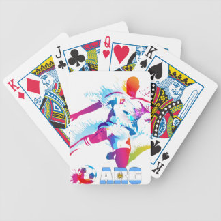 Argentine Football Bicycle Playing Cards