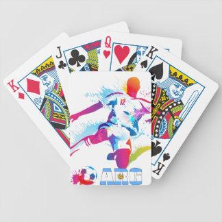 Argentine Football Poker Deck
