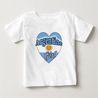 Argentine Girl Baby T-Shirt