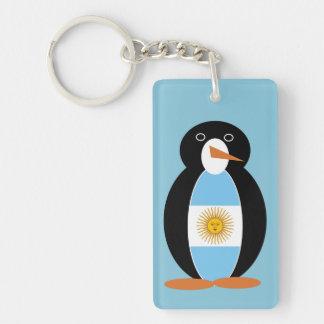 Argentine Penguin Keychain