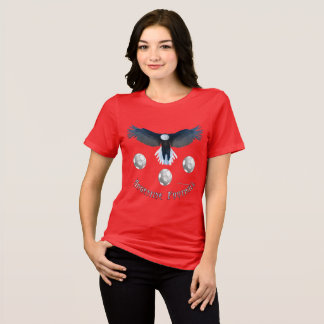 Argentine Soccer Eagle Ladies Relaxed Fit Tee